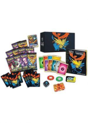 Elite Trainer Box - S&M Hidden Fates - Indhold af Hidden Fates Elite Trainer Box