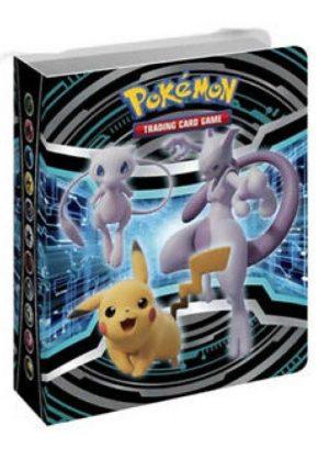 Lille mappe med pokemonmotiv (1 kort pr. side)(CEC)