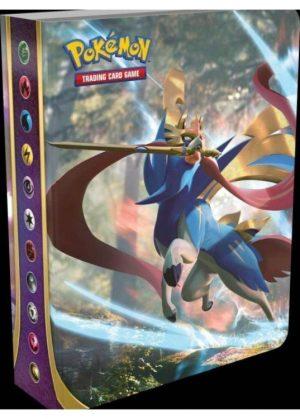 Lille mappe med pokemonmotiv (1 kort pr. side)(SSH)