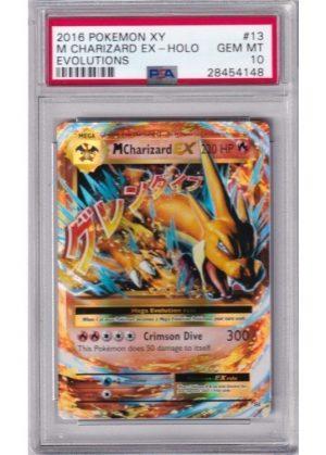 Mega Charizard-EX - 13/108 - PSA 10