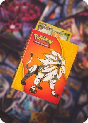 Lille mappe med Pokémonmotiv