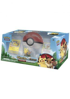 Pikachu & Eevee Poké Ball Collection Box.