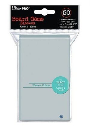 Ultra Pro Booster Pack sleeves  50 stk(70x120mm)