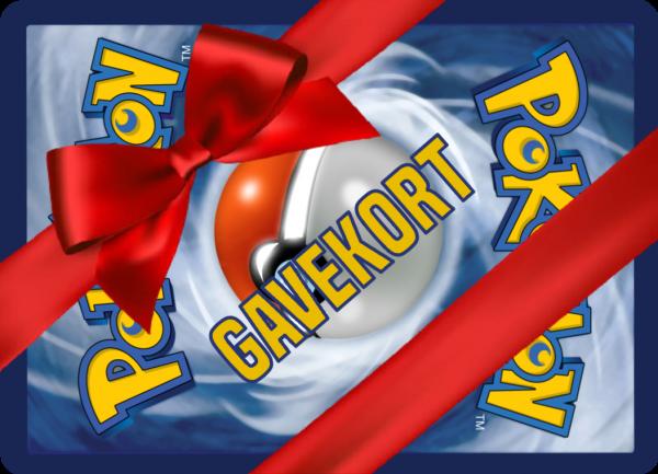 Pokemons gavekort