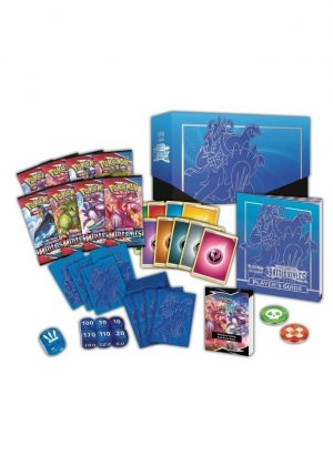 Elite Trainer Box - Blå - SWSH Battle Styles - Indhold - SWSH Battle Styles Elite Trainer Box