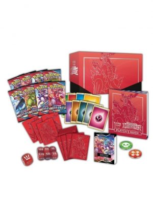 Elite Trainer Box - Rød - SWSH Battle Styles - Indhold - SWSH Battle Styles Elite Trainer Box