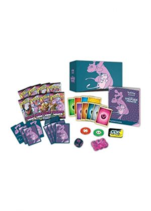Elite Trainer Box - S&M Unified Minds - Indhold i en Elite Trainer Box fra Sun & Moon Unified Minds