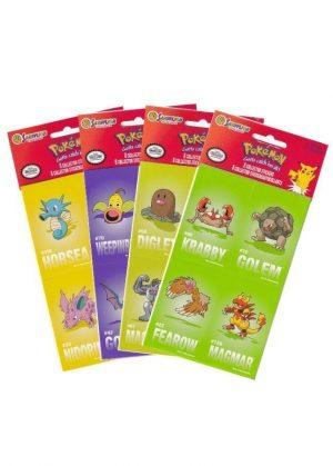 Pokémon klistermærker (8 stk.) - Sandylion collector stickers