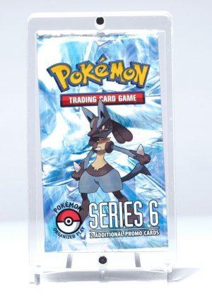 Magnetisk holder til én Pokémon Boosterpakke (S&M & SWSH) - Legendary Card Collector - Magnetisk holder til udstilling og beskyttelse af én Pokémon Boosterpakke