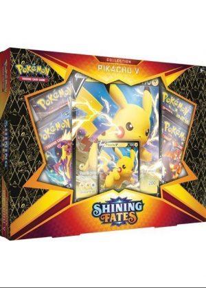 Pikachu V Box.