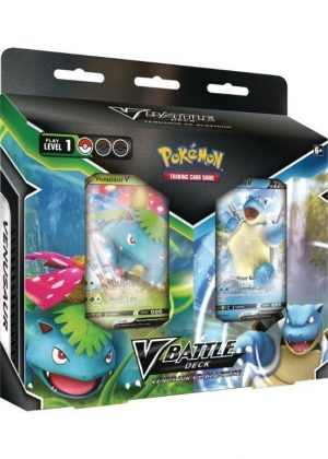 Venusaur V vs Blastoise V - Battle Deck