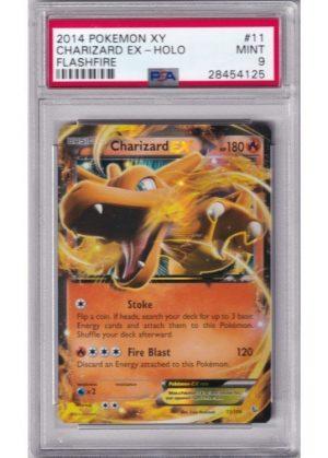 Charizard-EX - 11/106 - PSA 9