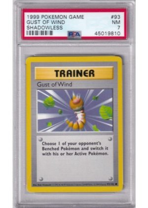 Gust of Wind - 93/102 - Shadowless - PSA 7