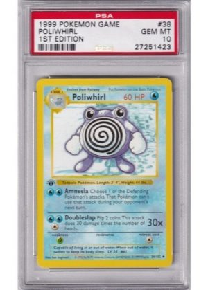 Poliwhirl - 38/102 - 1st Edition - PSA 10