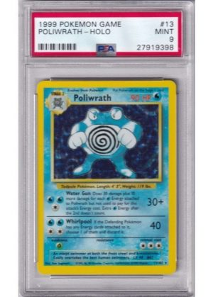 Poliwrath - 13/102 - PSA 9
