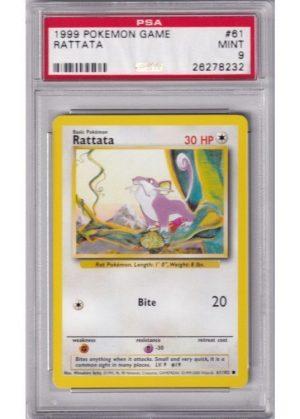 Rattata - 61/102 - PSA 9