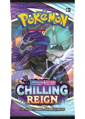 Booster Pack - SWSH Chilling Reign - Booster Pack SWSH Chilling Reign - Ice Rider Calyrex