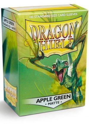 Dragon Shield matte (Æble-grøn) Deck Protector Sleeves 100 stk. top-loading (63x88mm)