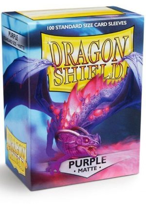 Dragon Shield matte (Lilla) Deck Protector Sleeves 100 stk. top-loading (63x88mm)