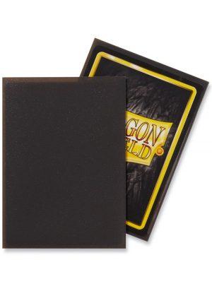 Dragon Shield matte (Mørk grå) Deck Protector Sleeves 100 stk. top-loading (63x88mm) - Dragon Shield standard sleeves matte (Mørk grå)