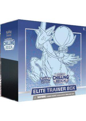 Elite Trainer Box - Blå - SWSH Chilling Reign