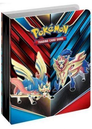 Lille mappe med pokemonmotiv (1 kort pr. side)(RCL2)