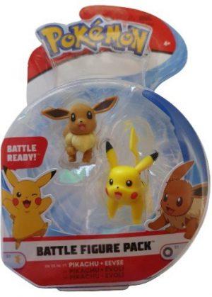 Pikachu + Eevee Battle Figure Pack