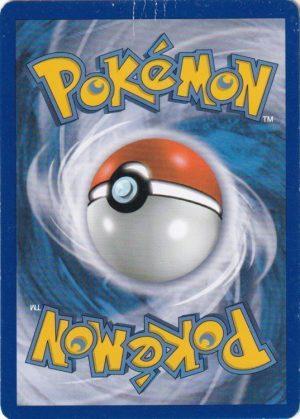 Pokemons loppefund nr. 18 - Bagside