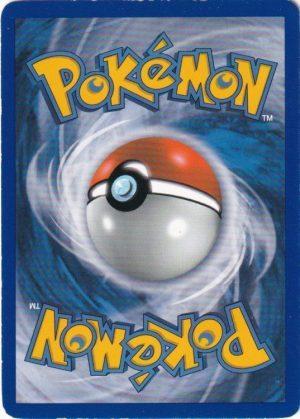 Pokemons loppefund nr. 21 - Bagside