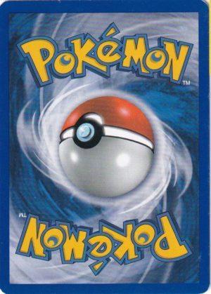 Pokemons loppefund nr. 32 - Bagside