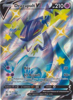 Shiny Dragapult VMAX Premium Collection. - Dragapult V SWSH096 - Pokemon Sword & Shield Promo kort