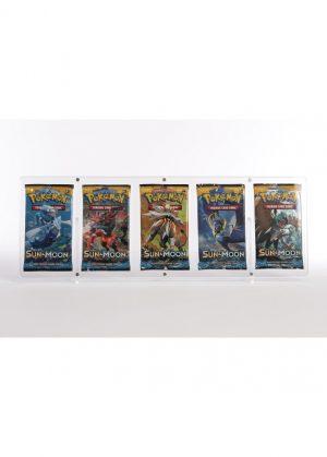 Magnetisk holder til fem Pokémon Boosterpakker (S&M & SWSH) - Legendary Card Collector