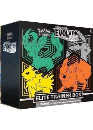 Elite Trainer Box - Leafeon, Umbreon, Jolteon & Flareon - SWSH Evolving Skies