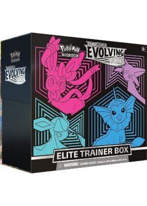 Elite Trainer Box - Sylveon, Espeon, Glaceon & Vaporeon - SWSH Evolving Skies