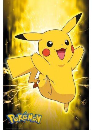 Plakat 1 - Pikachu Neon