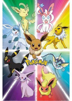 Plakat 3 - Eevee Evolution