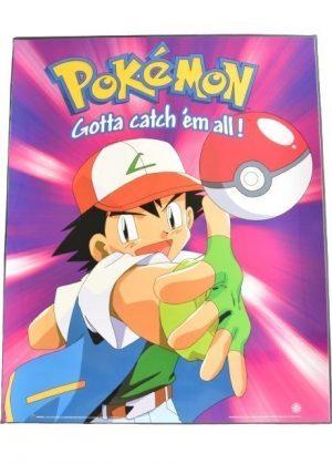 Plakat A - Ash Ketchum