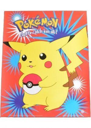 Plakat C - Pikachu med pokeball