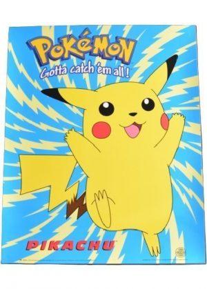 Plakat D - Pikachu med lyn baggrund