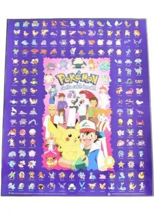 Plakat G - Ash og vennerne samt 150 Kanto pokemon