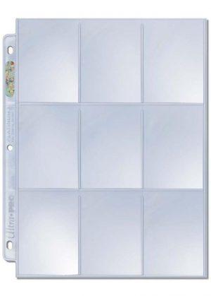 Ultra Pro Platinum 9-pocket page (1 stk)