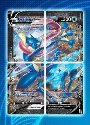 Greninja V-UNION Special Collection - Greninja V-UNION SWSH155 - Pokemon Sword & Shield Promo kort