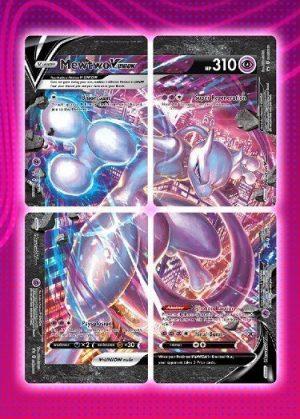 Mewtwo V-UNION Special Collection - Mewtwo V-UNION SWSH159 - Pokemon Sword & Shield Promo kort