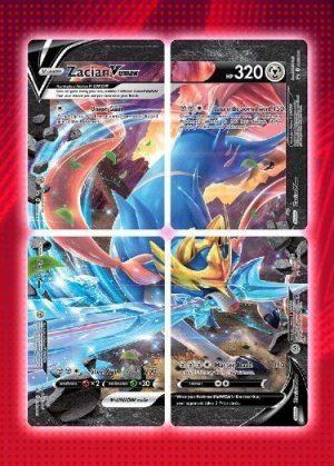 Zacian V-UNION Special Collection - Zacian V-UNION SWSH163 - Pokemon Sword & Shield Promo kort