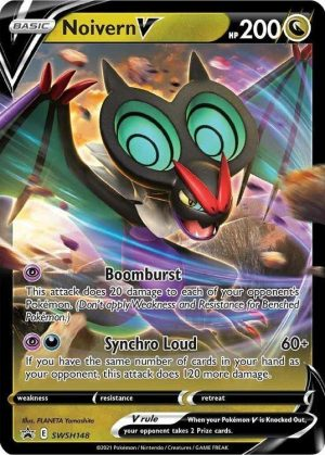 Noivern V - Battle Deck - Noivern V SWSH148 - Pokemon Sword & Shield Promo kort
